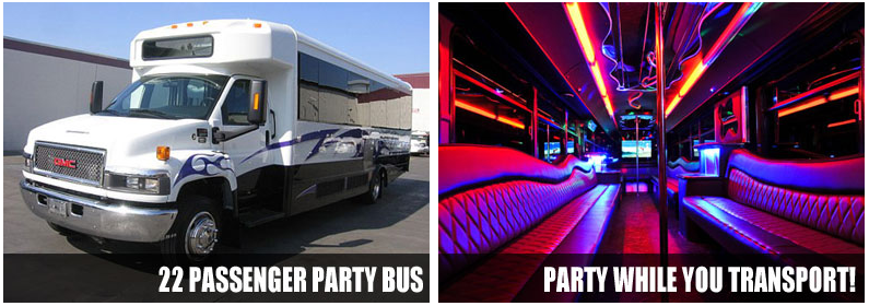 limo party bus rentals