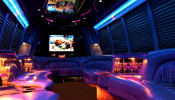 18 passenger party bus rental Coral Gables