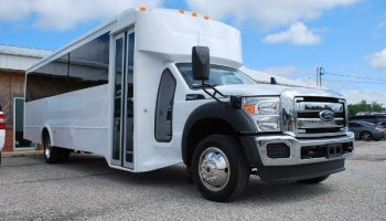 22 Passenger party bus rental Kendall