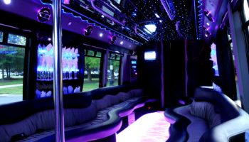 22 people Aventura party bus