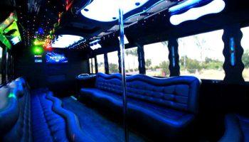40 people party bus Miramar