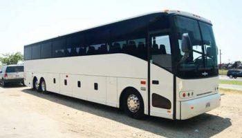 50 passenger charter bus Kendall